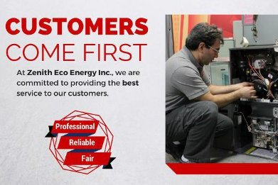 Reliable Furnace & Air Conditioner Service  | Zenith Eco Energy