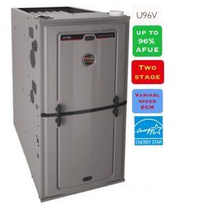 Ruud U96V Furnace | Zenith Eco Inc