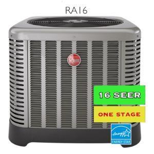 Rheem 16 seer Air Conditioner   Zenith Eco Energy