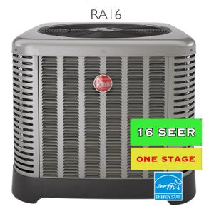 Rheem 16 seer Air Conditioner | Zenith Eco Energy