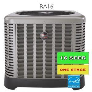 Ruud RA16 Air Conditioner 16 SEERS   Zenith Eco Inc.