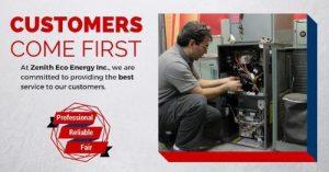 Heating and Cooling Ottawa Company | Zenith Eco Energy Inc.