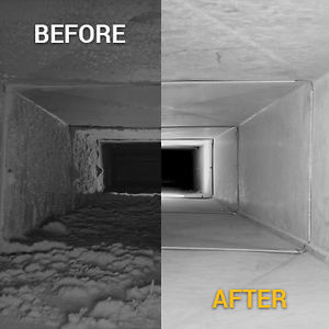 Duct Cleaning - Before & After | Zenith Eco Energy Inc.