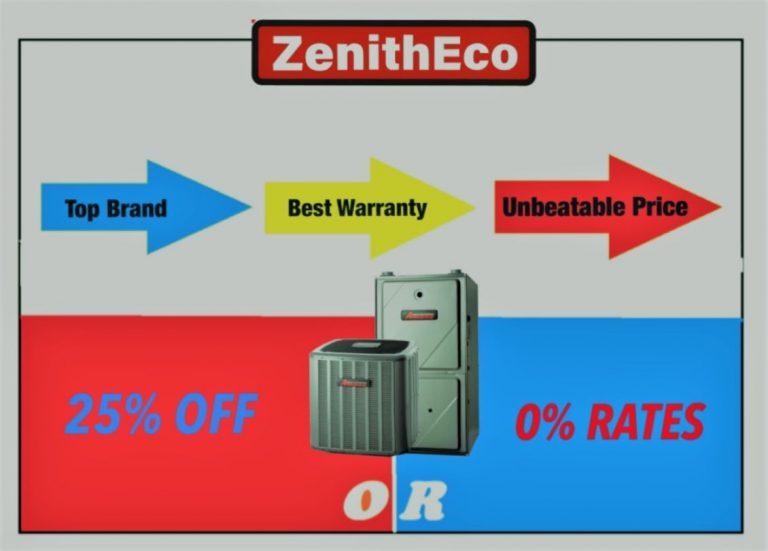 Furnace Promotion ZenithEco Energy