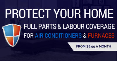 Protection Plans for air conditioners starting from 8.99 a month!